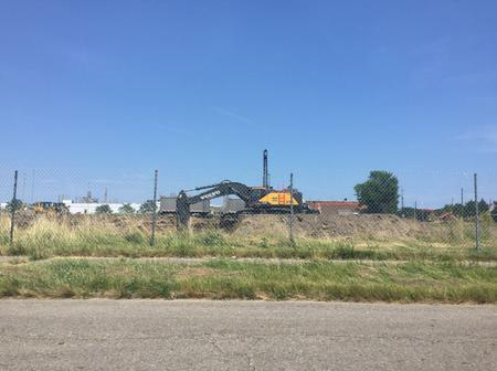 Construction at Fiat Chrysler's new facility began in June.Laura Herberg/WDET