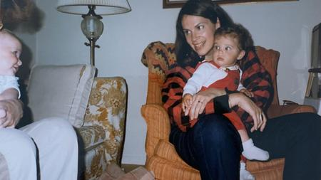 Susan Seaburg approached Dr. Taylor for artificial insemination. Here's Seaburg with her daughter, Liz Mesberg, in Ann Arbor in 1986.Courtesy Laura Khalil