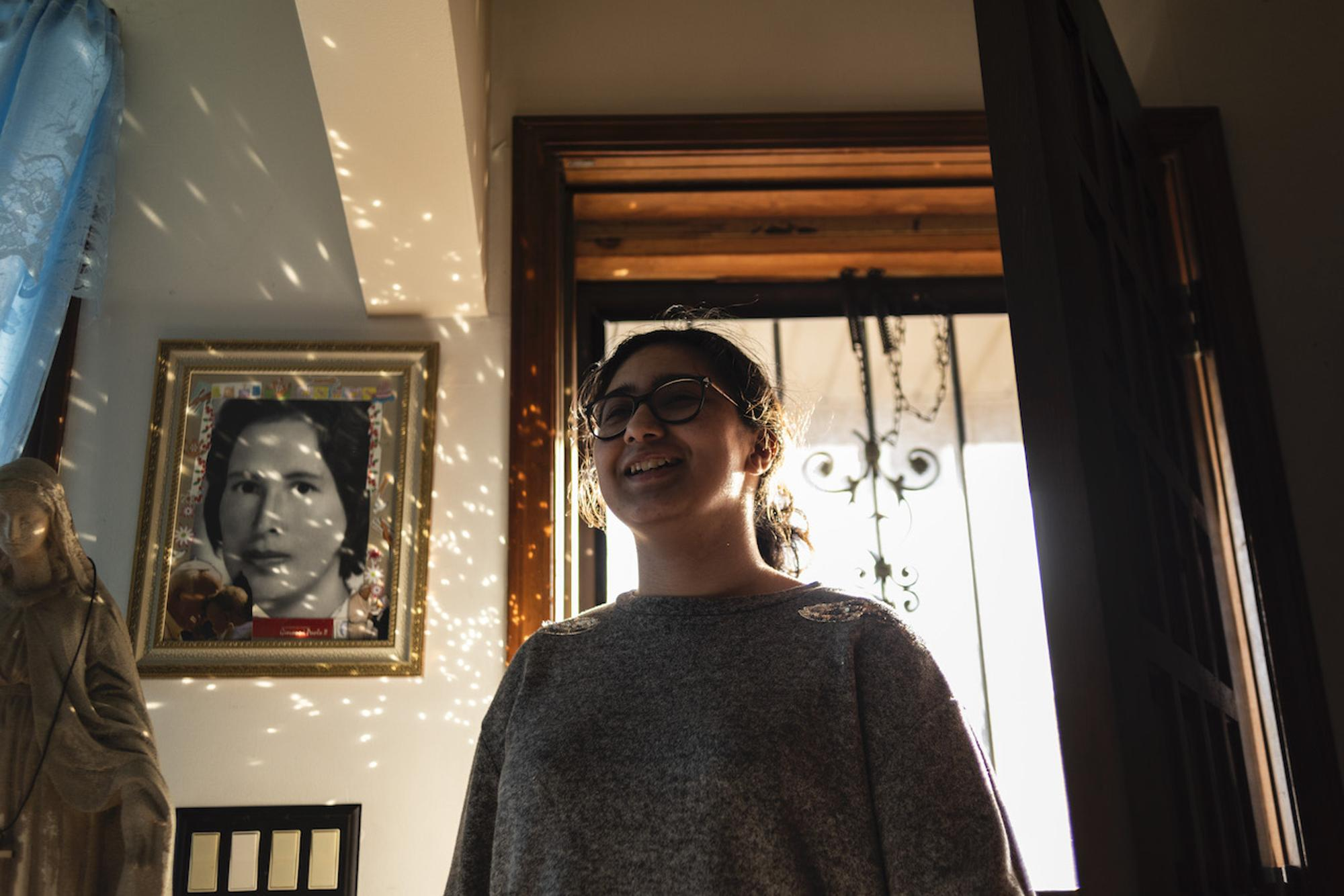 My niece, Margarita, 15, is my older sister's daughter. We've all been spending so much time together and getting to know each other more. Taken by Rosa María Zamarrón for WDET