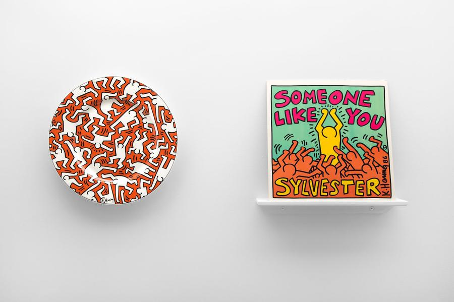 "Keith Harring, a well known street artist in New York City, was floating in the same musical circles as an artist like Sylvester, who he designed an album cover for for the song ""Someone Like You.""PD Rearick"