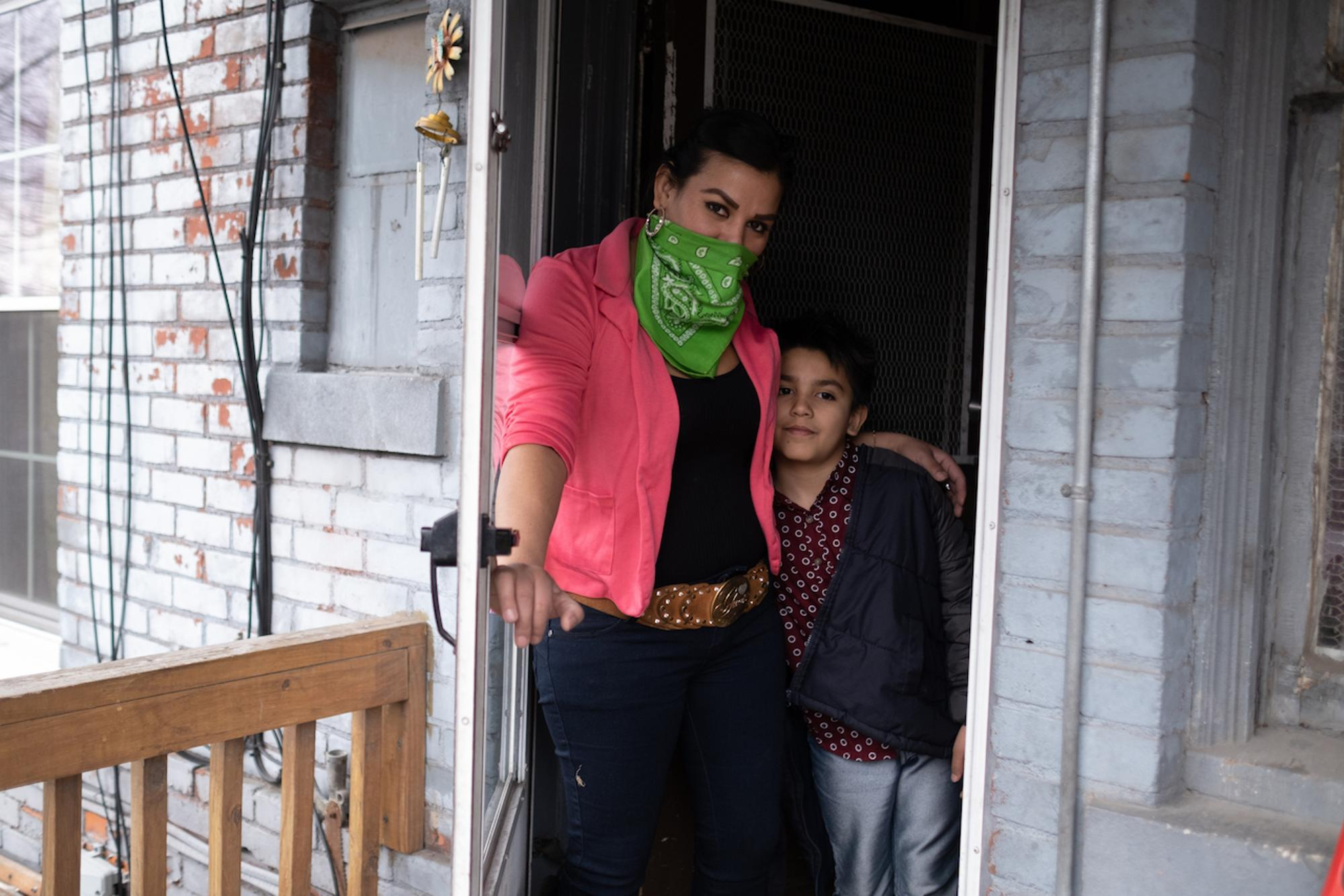 The Ibarra family in Southwest Detroit is packing in preparation to move amid shelter in place orders during the COVID-19 pandemic.Taken by Erik Paul Howard for WDET