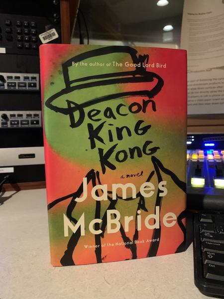 "James McBride's latest book ""Deacon King Kong"" was released earlier this year.Ryan Patrick Hooper"