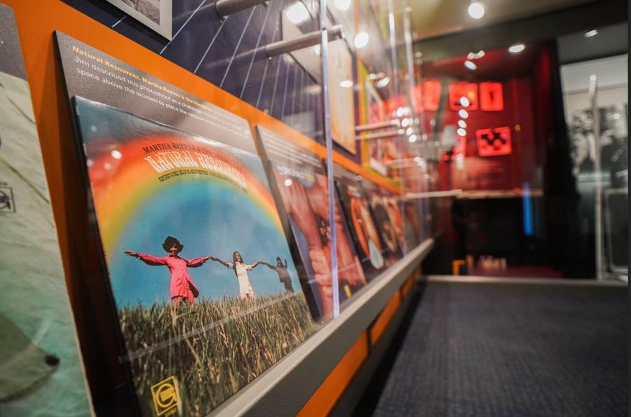 A photo exhibit by Jim Hendin is one of the new attractions at the reopened Motown Museum in Detroit.Courtesy of the Motown Museum