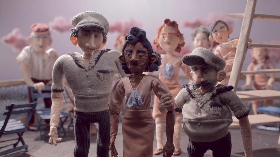 Le cinéaste de Detroit, Aaron Schillinger, utilise l'animation image par image pour raconter l'histoire peu connue de l'icône locale des droits civiques Sarah Elizabeth Ray.Courtoisie d'Aaron Schillinger