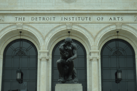 Exterior of the Detroit Institute of Arts in Detroit.Jake Neher/WDET