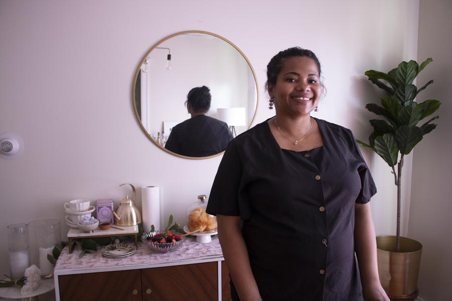 Detroit Charcuterie founder Victoria Cummings started her business earlier this year.Dorothy Hernandez/WDET