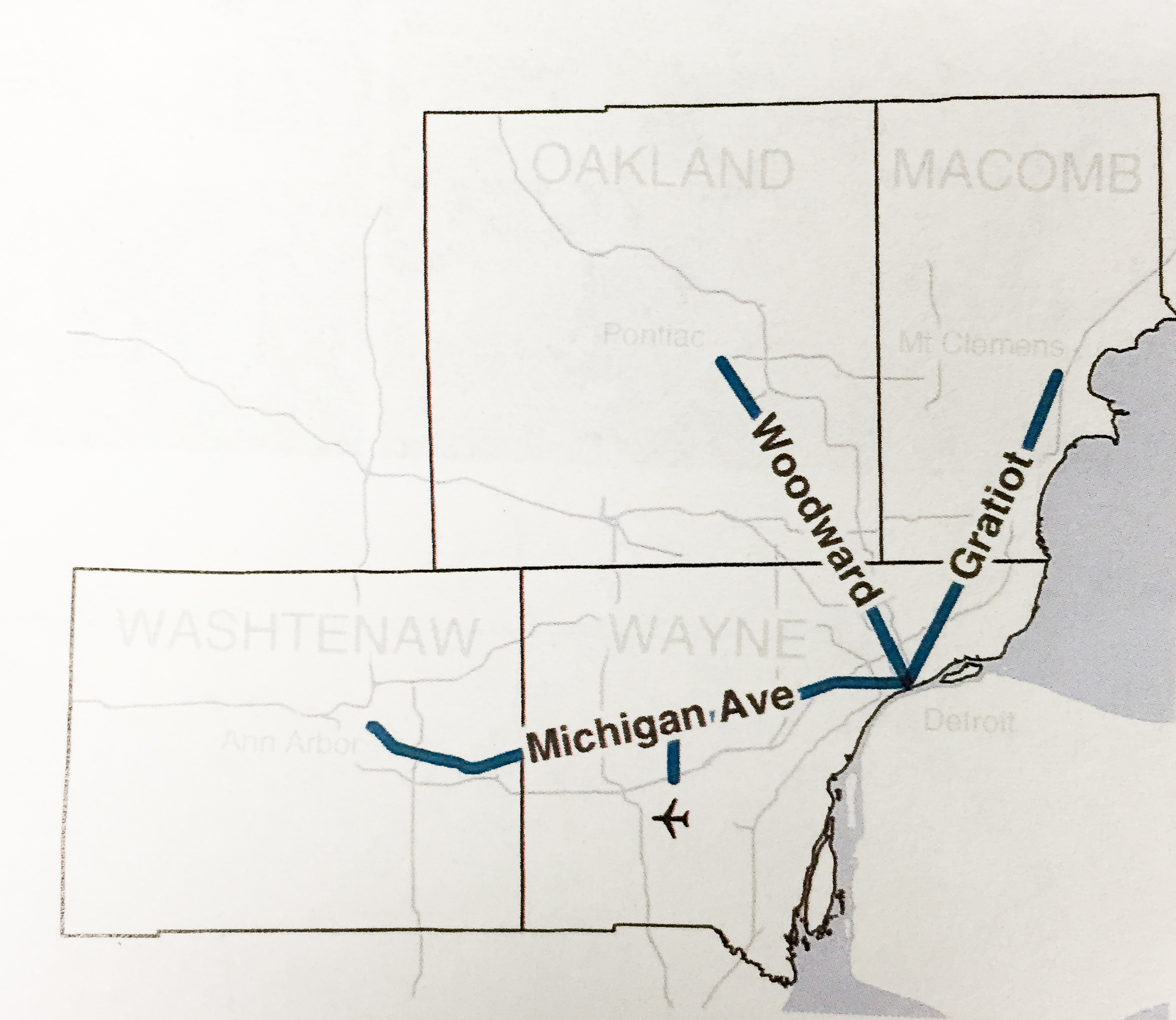 Southeast Michigan S Regional Transit Authority Working On