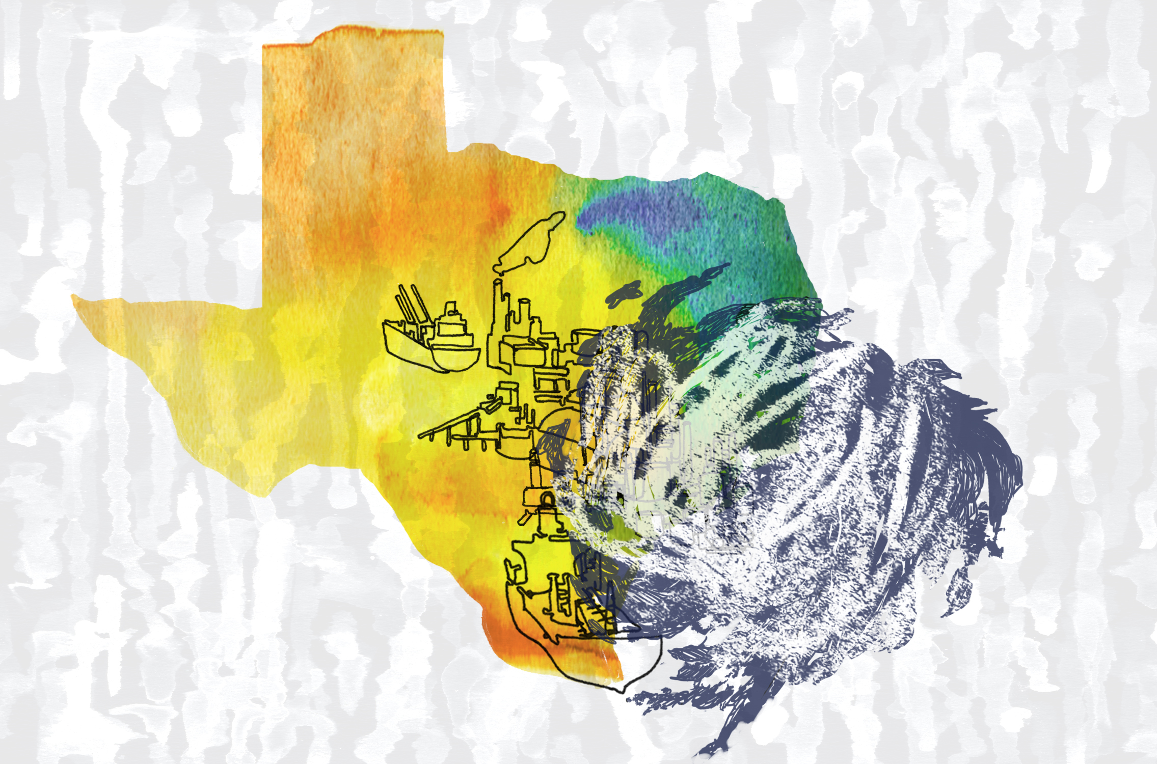 Illustration of Texas