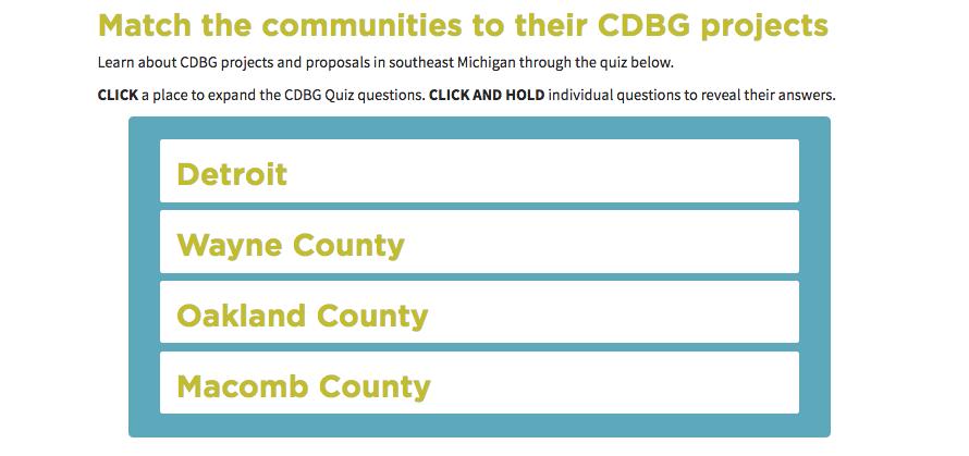 WDET's CDBG Quiz