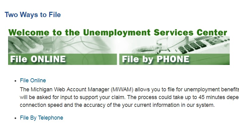 Unemployment fraud lawsuit against state dismissed by court of appeals wdet - Michigan unemployment office ...